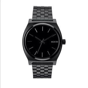 🆕 Nixon Time Teller All Black